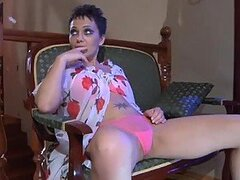 Viola Rides A Hard Cock Wearing Sexy Lingerie