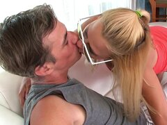 Milf blonde Payton Leigh being fucked in face