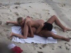 beautiful sex on the beach in the Crimea