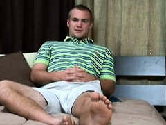 Ian Dawes is an 18-year old Southern stud with sex on his