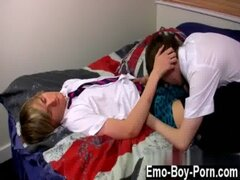 Gay movie Ethan Knight and Brent Daley are 2 mischievous students