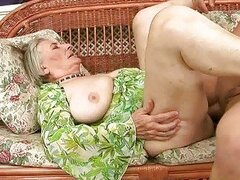 Very old granny gets fucked hard