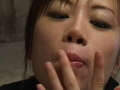 Alluring Asians are sharing tasty cumshots