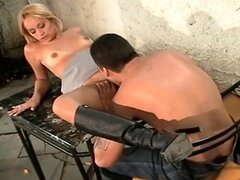 Brazilian Teen In High Boots Takes A Pounding