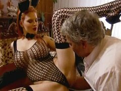 Sexy Tarra White fucks a Fat guy
