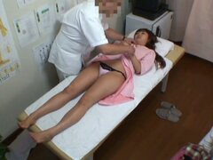 Medical voyeur video starring an Asian hottie
