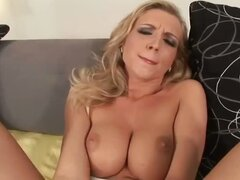 Dirty dirty dirty little whore! Nicolette doesn't know the meaning of taboo! No, no, or yes, yes... This nasty slut enjoys a little dildo ass to mouth and ass to pussy before getting those, as well as her throat stttreeetcheddd to their limits by two stud