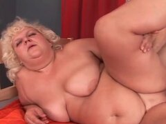 Fat slut in a fuck video with doggystyle sex