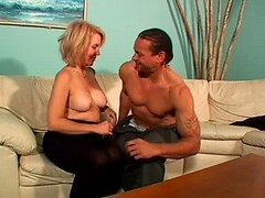 Busty Mature Anal Slut Erica Lauren Gets Fucked On a Couch
