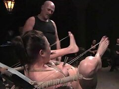 BDSM Action With A Horny Brunette And Her Seriously wet Pussy