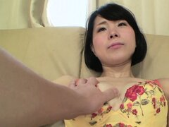 Erika is a naughty Asian mom in need of a hard dick to suck on