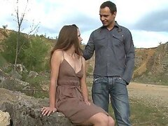 Klara Loves Having Hardcore Sex Outdoors