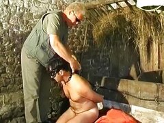 Blonde guy fucks and tortures his horny