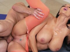 Brazzers - Ava Addam has other plans for yoga class
