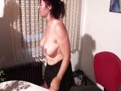 Mature European gets fucked at work