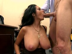 Big natural tits milf boned