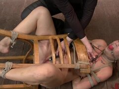 Chanel Preston Hogtied and Fucked