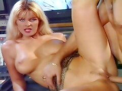 Terrific vintage video of Bruno SX fucking Lisa Belle's butt from behind