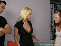 Seductive Couple Fucking Coed
