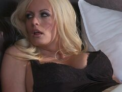 Fireside milf sex with Stormy Daniels