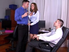 Office sex with hardcore Dominica Phoenix
