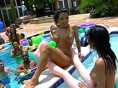 Pool Party Orgy With Amazingly Hot Pornstars