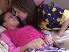 Sweet lesbian moments with hot teens