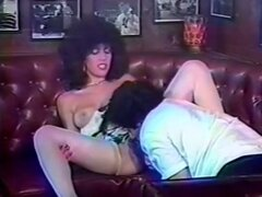 Vintage busty blonde whore fucked in bar