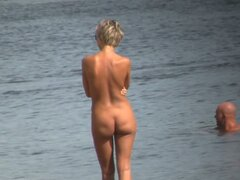 Hot looking amateur people on best nude beach video