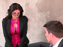 Phoenix Marie Is A Sexy Coworker With A Very Perverted Attitude
