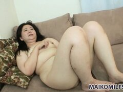 Admirable Asian woman gets her sweet cake pounded by passionate guy