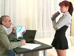 Stefany The Secretary Is A Slut