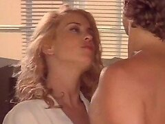 Spectacular Kathleen Scott Gets Banged While a Blonde Voyeur Watches