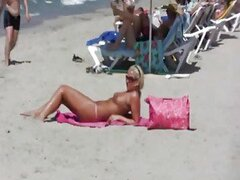 Hot Blonde Girl Gets Fucked On Beach