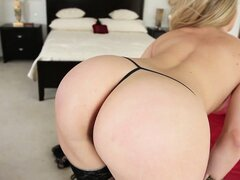 She�s got a round ass and a pussy that�s craving a deep fingering