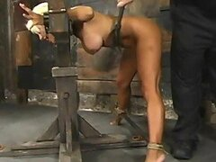 Extreme Bondage For a Extremely Sexy Blonde...