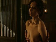 Laura Haddock HOT Doggie in Da Vinci Demons