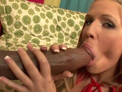 Huge black schlong for naughty juicy chick