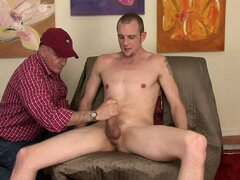 Str8 HUNG Jonas returns and this time he lets me touch him, suck him and rim him.