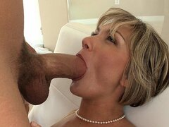 MILF screams as she...