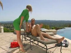 Tanya Tate loves fucking by the pool