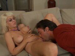 Rocco Reed loves the sound of dick entering quickly into Sindi Star's vagina. The sound is so sweet, that he needs to stop himself for awhile in order not to come earlier.