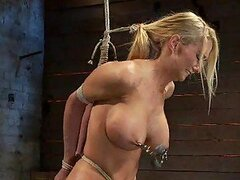 Kinky Bitch Submits to Bondage and Toys