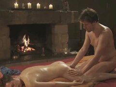 Anal and balls massage for gay lovers