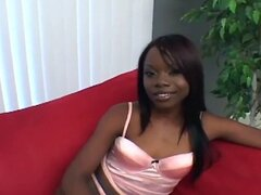 Black girl loves a naughty threesome