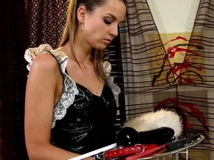 Spanking the French maid