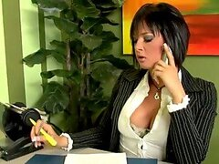 Tattooed brunette milf Tory Lane fucks a traffic cop