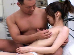 Hottie Mako Wakatsuki sucking and fucking