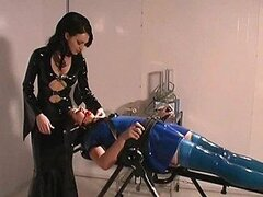 Obscure Lesbian Dominatrix Has Some BDSM Fun With her Sex Slave