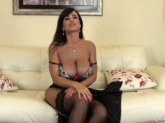 Superb milf Lisa Ann will certainly receive a lot of our attention
